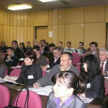 The first Info day in Serbia (Kragujevac)